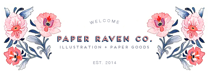 Paper Raven Co. - Illustration & Paper Goods
